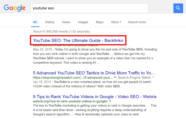 seo full guide 2018