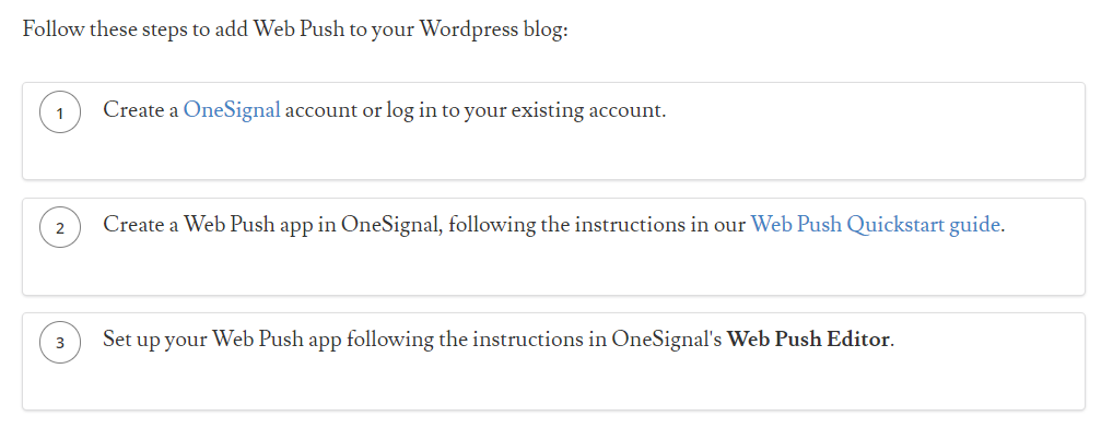onesignal push notification
