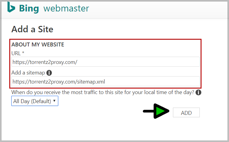 bing webmaster tutorial