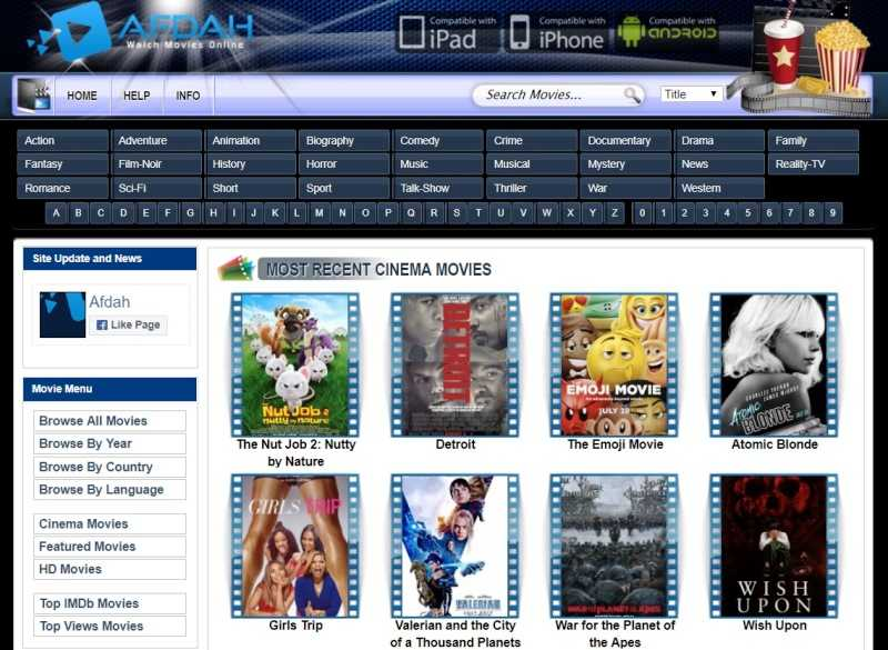 Afdah Stream Movies For Free – Sites Like Afdah.tv