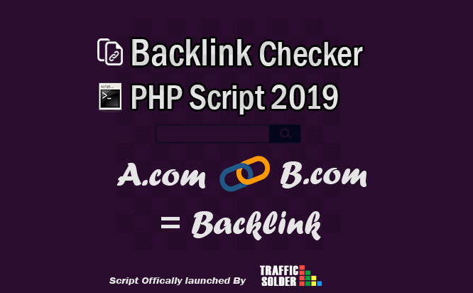 Best 100% Working Backlink Checker Script PHP 2019