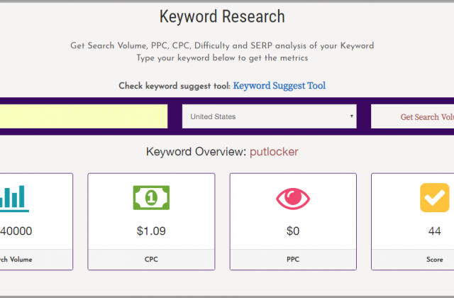 keyword research php script